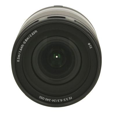 Sony 24-240mm 1:3.5-6.3 FE OSS negro - nuevo
