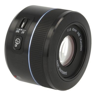 Samsung 45mm 1:1.8 NX i-Function negro - nuevo