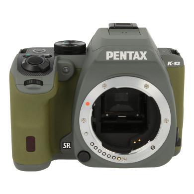 Pentax K-S2 verde del bosque - nuevo