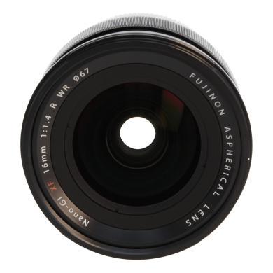 Fujifilm 16mm 1:1.4 XF R WR negro - nuevo