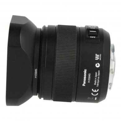 Panasonic 45mm 1:2.8 Leica DG Macro-Elmarit ASPH OIS noir - Neuf