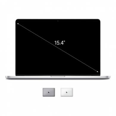 "Apple MacBook Pro 2015 15,4"" (QWERTZ) écran Retina Intel Core i7 2,8GHz 256Go SSD 16Go argent - Bon"