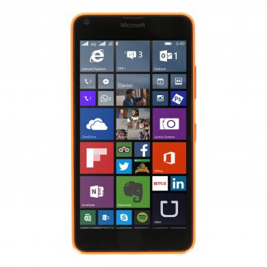 Microsoft Lumia 640 4G 8 Go orange - Neuf