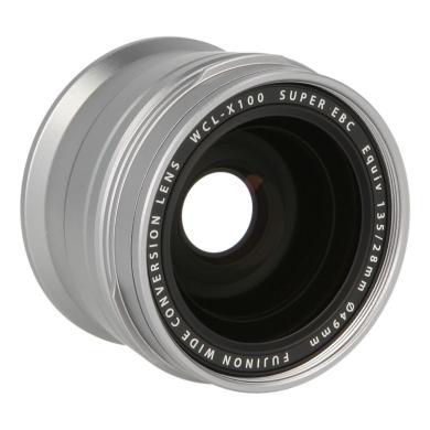 Fujifilm WCL-X100 Weitwinkelconverter Silber - neu