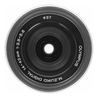 Olympus Zuiko Digital 14-42mm 1:3.5-5.6 ED EZ argent - Neuf