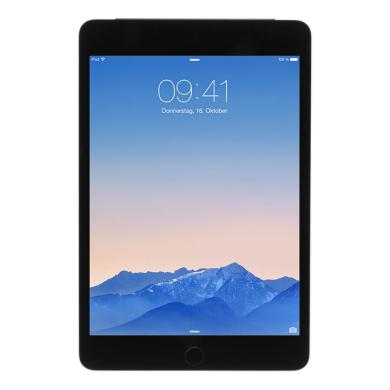 Apple iPad mini 4 WLAN + LTE (A1550) 128 GB Spacegrau - sehr gut