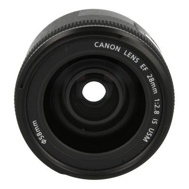 Canon EF 28mm 1:2.8 IS USM Schwarz - neu