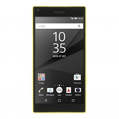 Sony Xperia Z5 compact 32 GB Gelb - sehr gut