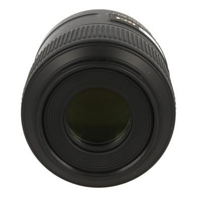 Nikon 85mm 1:3.5 AF-S DX G ED VR Micro negro - nuevo