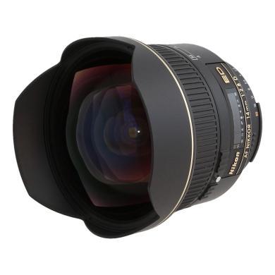 Nikon 14mm 1:2.8 AF D ED RF Schwarz - neu