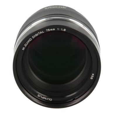 Olympus Zuiko Digital 75mm 1:1.8 ED noir - Neuf