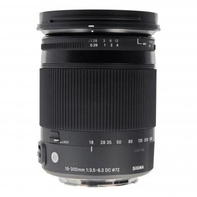 Sigma 18-300mm 1:3.5-6.3 DC Macro OS HSM Contemporary für Canon Schwarz - neu