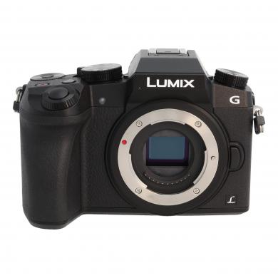 Panasonic Lumix DMC-G70 Schwarz - gut