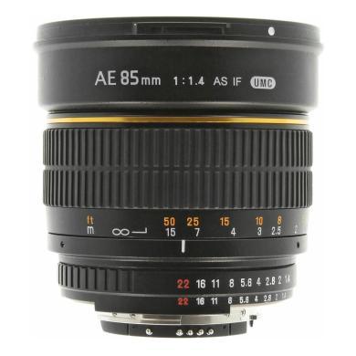 85mm 1:1.4 F AE für Nikon F schwarz - neu