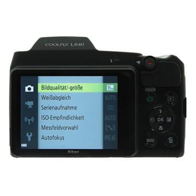 Nikon Coolpix L840 schwarz - neu