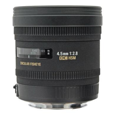 Sigma 4.5mm 1:2.8 AF EX DC HSM Zirkular Fisheye für Canon Schwarz - neu