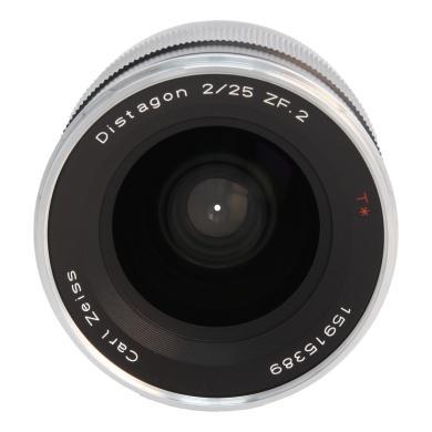 Zeiss Distagon T* 2.8/25 ZF.2 avec Nikon F Mount noir - Neuf