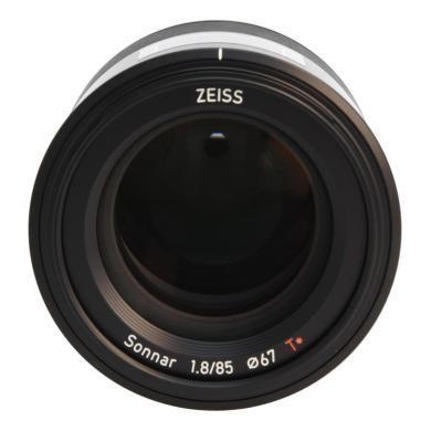Zeiss Batis 1.8/85 avec Sony E Mount noir - Neuf