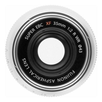 Fujifilm 35mm 1:2.0 XF R WR argent - Neuf
