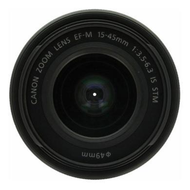 Canon 15-45mm 1:3.5-6.3 EF-M IS STM negro - nuevo