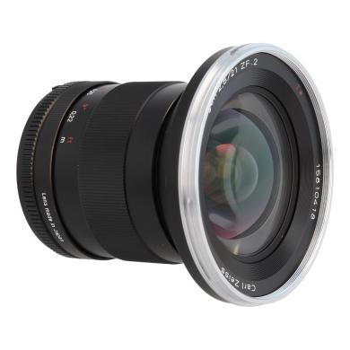 Zeiss Distagon T* 2.8/21 ZF.2 mit Nikon F Mount Schwarz - neu