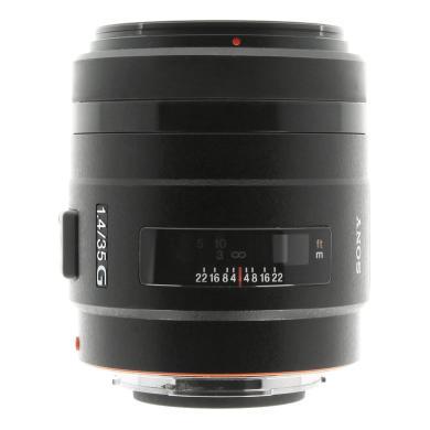 Sony 35mm 1:1.4 AF G (SAL35F14G) negro - nuevo