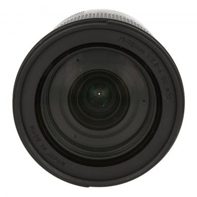Sigma pour Sony y Minolta 17-70mm 1:2.8-4 DC HSM Macro Contemporary noir - Neuf