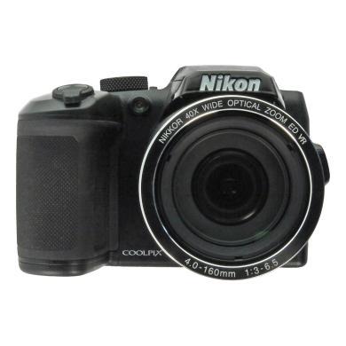 Nikon Coolpix B500 Schwarz - neu
