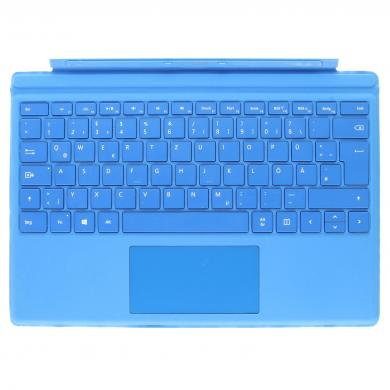 Microsoft Surface Pro 4 Type Cover (A1725) Hellblau - QWERTZ - sehr gut