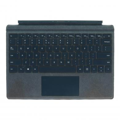 Microsoft Surface Pro 4 Type Cover (A1725) Alacantara petrol - QWERTY - sehr gut