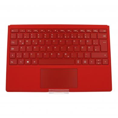 Microsoft Surface Pro 4 Type Cover (A1725) Rot - QWERTZ - sehr gut