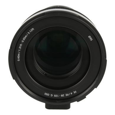 Sony 28-135mm 1:4.0 E G PZ OSS noir - Neuf