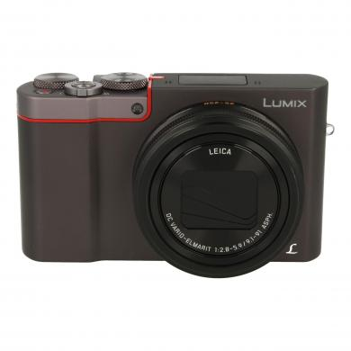 Panasonic Lumix DMC-TZ101 Silber - gut
