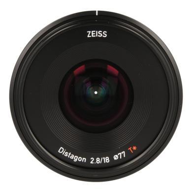 Zeiss Batis 2.8/18 avec Sony E Mount noir - Neuf