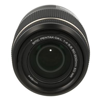 Pentax 50-200mm 1:4.0-5.6 SMC DA L ED WR negro - nuevo