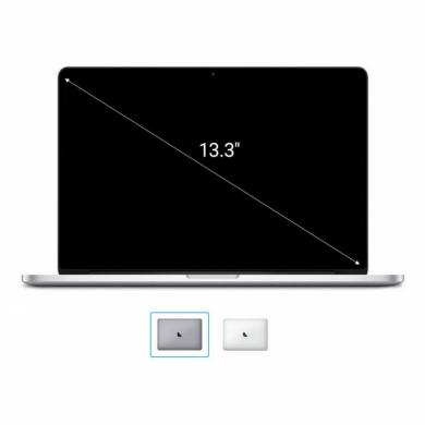 "Apple MacBook Pro 2016 13"" (QWERTZ) 2,0 GHz Dual-Core Intel i5 con 64 MB eDRAM (Turbo Boost desde hace 3,1 GHz) 2,0 GHz 256 GB SSD 8 GB gris espacial - muy bueno"