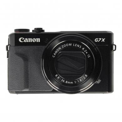 Canon PowerShot G7X Mark II Schwarz - gut