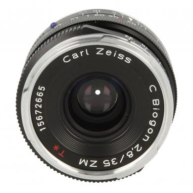 Zeiss C Biogon T* 2,8/35 ZM mit Leica M Mount Schwarz - neu