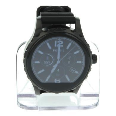 Fossil Q Marshal - noir bracelet en silicone noir (FTW2107) - Neuf