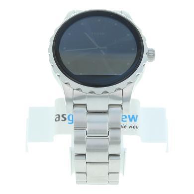 Fossil Q Marshal - argent avec un bracelet à maillons en argent (FTW2109) - Neuf