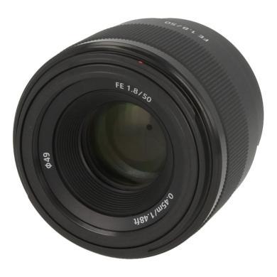 Sony 50mm 1:1.8 FE (SEL-50F18F) negro - nuevo