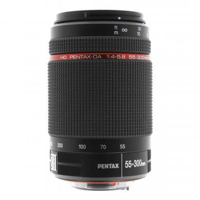 Pentax 55-300mm 1:4.0-5.8 HD DA ED WR negro - buen estado