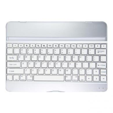 kwmobile Bluetooth Keyboard Hülle für Apple iPad Air Weiss Weiss - neu