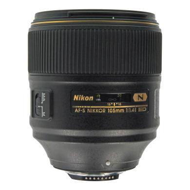 Nikon 105mm 1:1.4 AF-S NIKKOR E ED noir - Neuf