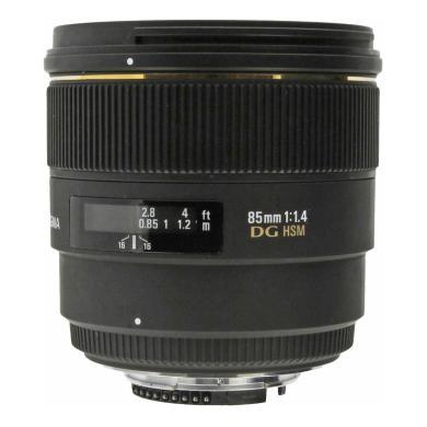 Sigma 85mm 1:1.4 DG HSM für Nikon Schwarz - neu