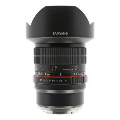 Samyang 14mm 1:2.8 Asph IF ED UMC para Sony E negro - nuevo