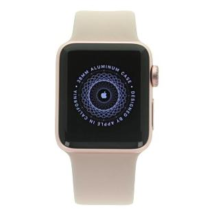 Apple Watch Series 2 boitier en aluminiumrose or 38mm avec Bracelet sport rose sable aluminium rose or - Neuf