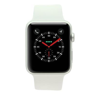 Apple Watch Series 1 boitier en aluminiumargent 42mm avec Bracelet sport blanc aluminium Argent - Neuf