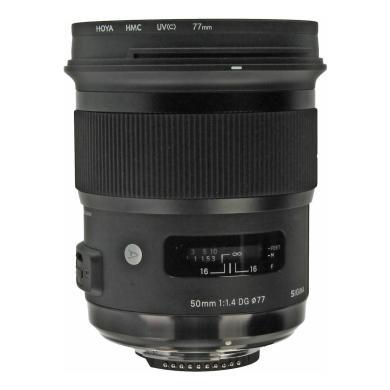 Sigma 50mm 1:1.4 DG HSM Art für Nikon Schwarz - neu