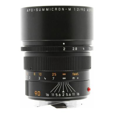 Leica 90mm 1:2.0 SUMMICRON-M APO ASPH noir - Neuf